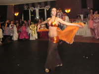 Buikdans optreden bruiloft