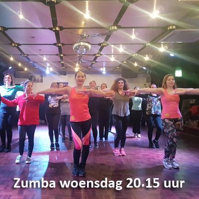 Zumbales Dance Passion woensdag 20,15 uur