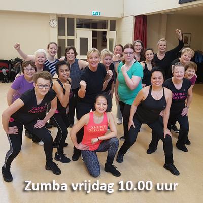 Zumbales Dance Passion vrijdag 10 uur