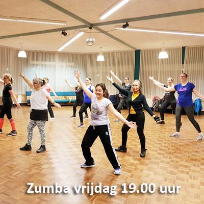 Zumbales Dance Passion vrijdag 19 uur
