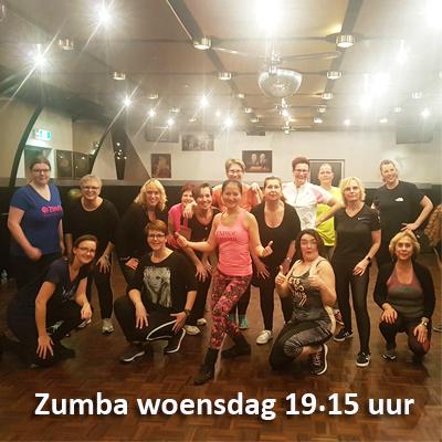 Zumbales Dance Passion woensdag 19,15 uur