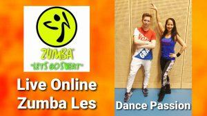 Live online zumba lessen Dance Passion